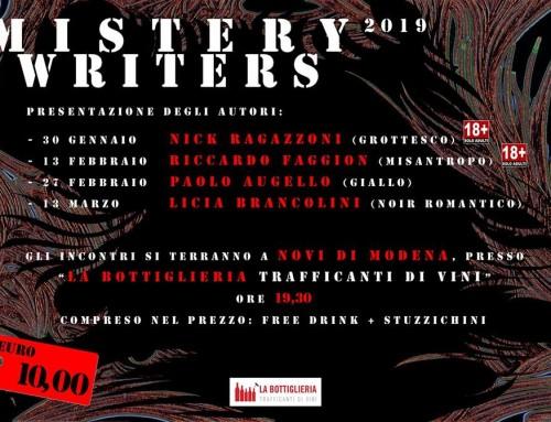 Articolo su Tempo News: Evento Mistery Writers